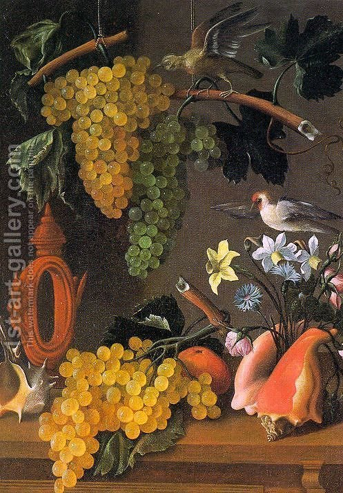 Huge version of Still Life with Grapes