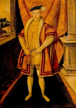 Reproduction oil paintings - Hans Eworth - Edward VI 1547-53