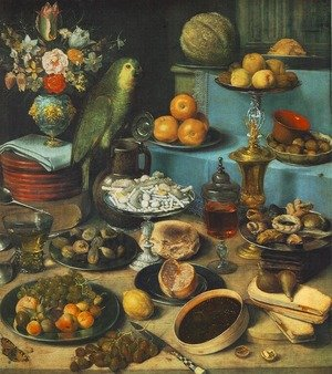 Still-life with Parrot