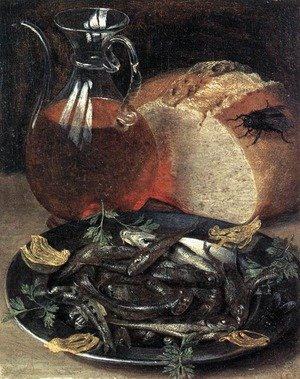 Still-life with Fish 1637
