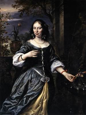 Reproduction oil paintings - Govert Teunisz. Flinck - Portrait of Margaretha Tulp 1655