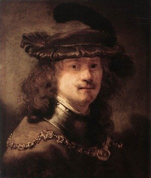 Reproduction oil paintings - Govert Teunisz. Flinck - Portrait of Rembrandt 1633-34