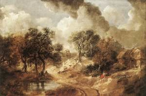 Reproduction oil paintings - Thomas Gainsborough - Landscape in Suffolk c. 1750