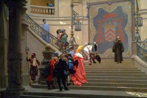 Reproduction oil paintings - Jean-Léon Gérôme - L'Éminence Grise, salon of 1874