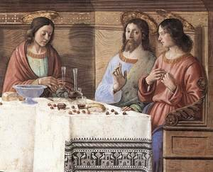 Reproduction oil paintings - Domenico Ghirlandaio - Last Supper (detail 2) c. 1486