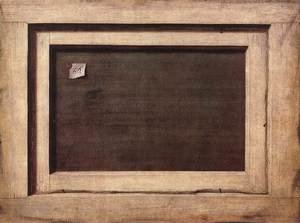 Cornelis Gijsbrechts reproductions - Reverse side of a painting 1670