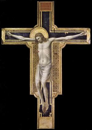 Reproduction oil paintings - Giotto Di Bondone - Crucifix 1310-17