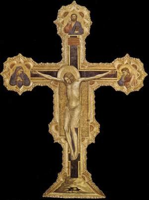 Reproduction oil paintings - Giotto Di Bondone - Crucifix 1317