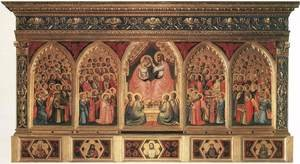Reproduction oil paintings - Giotto Di Bondone - Baroncelli Polyptych c. 1334