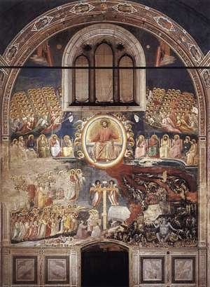 Reproduction oil paintings - Giotto Di Bondone - Last Judgment 1306