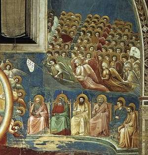 Reproduction oil paintings - Giotto Di Bondone - Last Judgment (detail 3) 1306