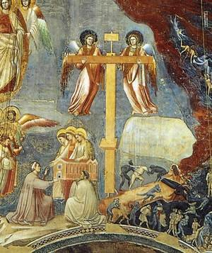 Reproduction oil paintings - Giotto Di Bondone - Last Judgment (detail 9) 1306