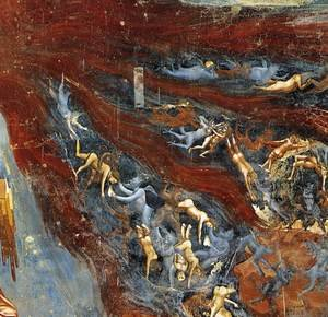 Reproduction oil paintings - Giotto Di Bondone - Last Judgment (detail 11) 1306