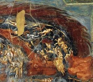 Reproduction oil paintings - Giotto Di Bondone - Last Judgment (detail 12) 1306