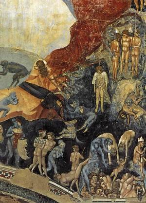 Reproduction oil paintings - Giotto Di Bondone - Last Judgment (detail 13) 1306