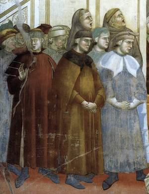 Reproduction oil paintings - Giotto Di Bondone - Legend of St Francis- 13. Institution of the Crib at Greccio (detail) 1297-1300