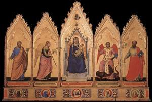 Reproduction oil paintings - Giotto Di Bondone - Polyptych 1330-35
