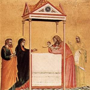 Reproduction oil paintings - Giotto Di Bondone - Presentation in the Temple 1320-25