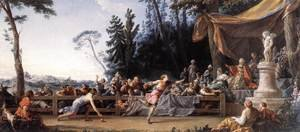 Rococo painting reproductions: The Race between Hippomenes and Atalanta 1762-65