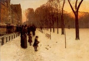 Boston Common at Twilight 1885-86