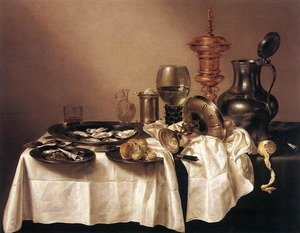 Still Life with a Gilt Goblet 1635