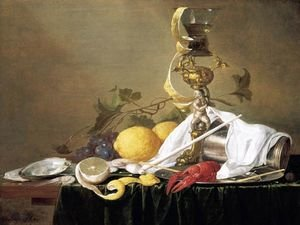 Reproduction oil paintings - Jan Davidsz. De Heem - Still-Life 1642