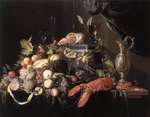 Still-Life with Fruit and Lobster 1648-49