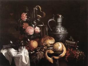 Reproduction oil paintings - Jan Davidsz. De Heem - Still-Life (1)