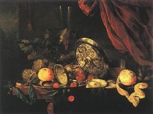 Reproduction oil paintings - Jan Davidsz. De Heem - Still-life (2)