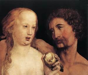 Reproduction oil paintings - Hans, the Younger Holbein - Adam and Eve 1517