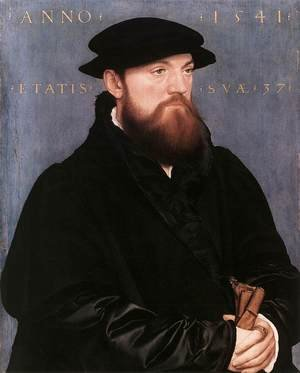Reproduction oil paintings - Hans, the Younger Holbein - De Vos van Steenwijk 1541