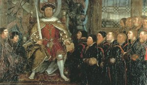 Reproduction oil paintings - Hans, the Younger Holbein - Henry VIII and the Barber Surgeons (2)  c. 1543