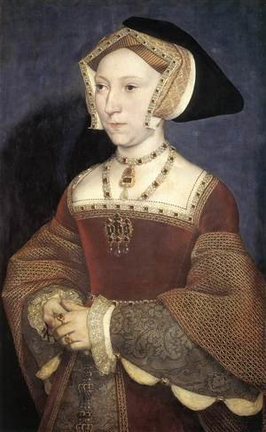 Reproduction oil paintings - Hans, the Younger Holbein - Jane Seymour, Queen of England 1536