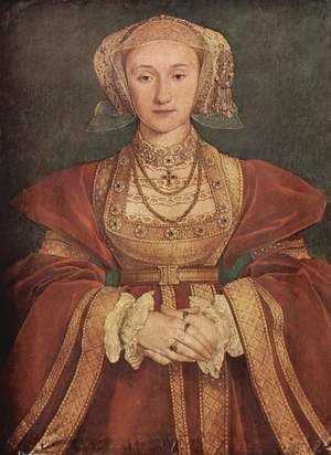 Reproduction oil paintings - Hans, the Younger Holbein - Portrait of Anne of Cleves c. 1539