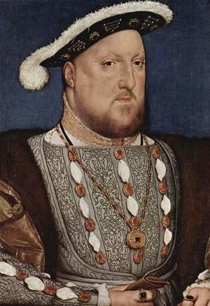 Reproduction oil paintings - Hans, the Younger Holbein - Portrait of Henry VIII 1536