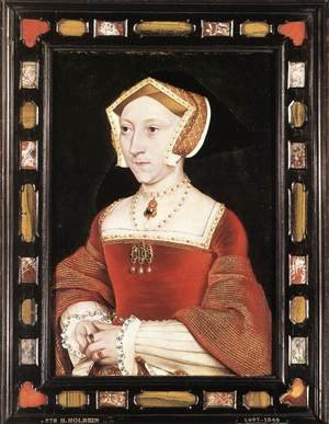 Reproduction oil paintings - Hans, the Younger Holbein - Portrait of Jane Seymour c. 1537
