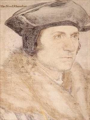 Famous paintings of Men: Sir Thomas More 1527-28