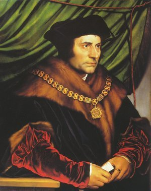 Hans, the Younger Holbein reproductions - Sir Thomas More 1527