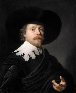 Reproduction oil paintings - Gerrit Van Honthorst - Portrait of a Gentleman 1631