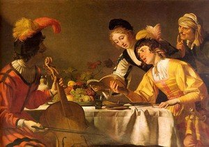 Reproduction oil paintings - Gerrit Van Honthorst - The Concert  1625