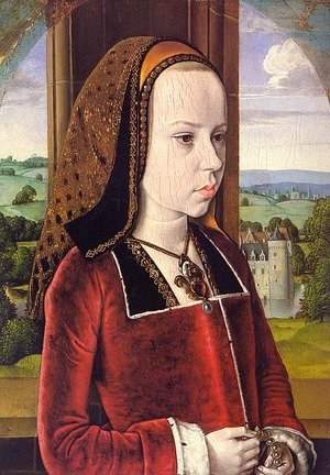 Portrait of Margaret of Austria (Portrait of a Young Princess) 1490-91