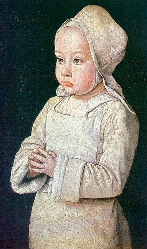 Suzanne of Bourbon (Child at Prayer)