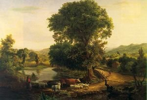 Reproduction oil paintings - George Inness - Afternoon  1846