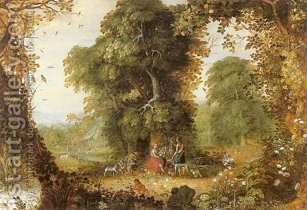 Allegory of Abundance by Alexander Keirinckx - Reproduction Oil Painting
