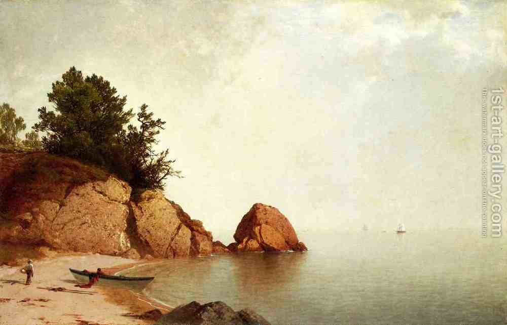Huge version of Beach at Beverly 1869-72
