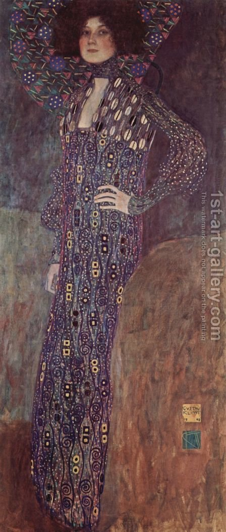Emilie Floge 1902 by Gustav Klimt - Reproduction Oil Painting