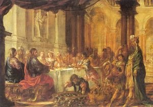 Juan de Valdes Leal reproductions - The Marriage at Cana  1660