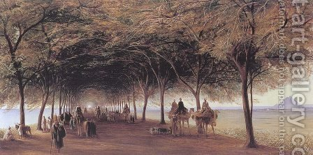 The Pyramids Road, Ghizeh  1873