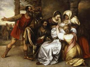 Jan Lievens reproductions - Jacob Receiving the Blooded Tunic of Joseph