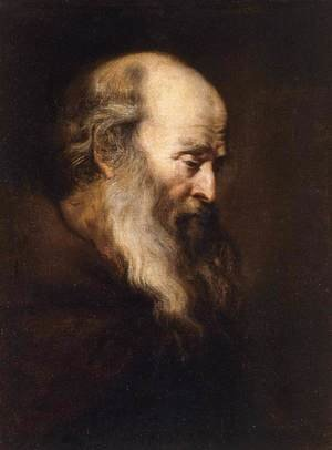Reproduction oil paintings - Jan Lievens - Portrait of an Old Man 1630-35